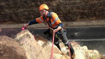 Geo-technical Rope Access