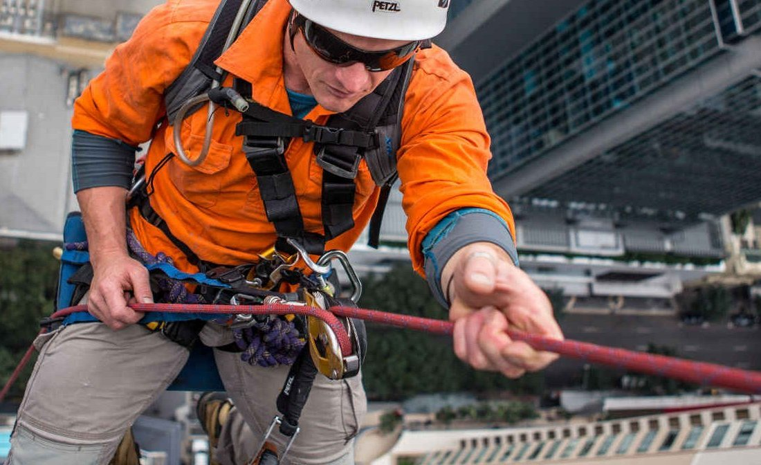 Industrial Abseiling